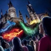 The New Harry Potter Light Show At Universal Studios Opens Friday