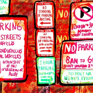 How To Deal With Parking In LA Without Turning Into A Ball Of Rage