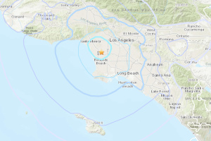 Preliminary Magnitude 4.0 Earthquake Jolts LA SoCal Awake