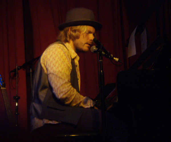 Bryan Master at the Hotel Cafe on 11/8/07