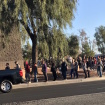 People Are Waiting In Line For Hours To Donate Blood In Las Vegas