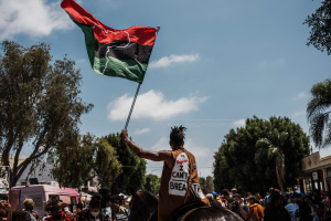 PHOTOS: Juneteenth in Leimert Park -- A Celebration of Black Joy During Difficult Times