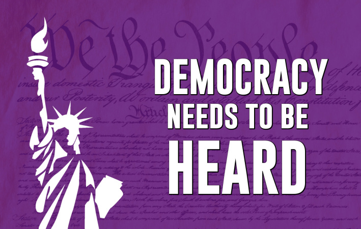 The Purple Project: Democracy Needs to Be Heard