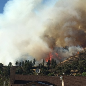 Sunday's Brush Fire On Glendale, Eagle Rock Border Is Still Causing Traffic Troubles