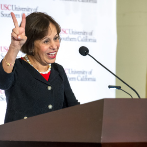 USC Has A New President. Here's What She Has To Deal With