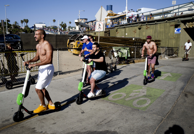 LA's Scooter Wars Sound A Lot Like The Early Days Of Automobiles
