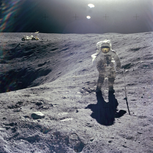 There's A Live Moon Landing Show At The Rose Bowl -- Go For Space Adventure, Stay For The Giant Dome
