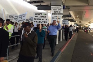 Taxi Drivers Strike At LAX, Demanding To Be Allowed Back To Terminals For Pickups