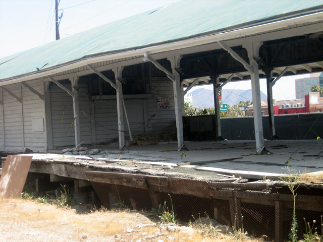 The Old Train Station in NoHo Arts needs restoring