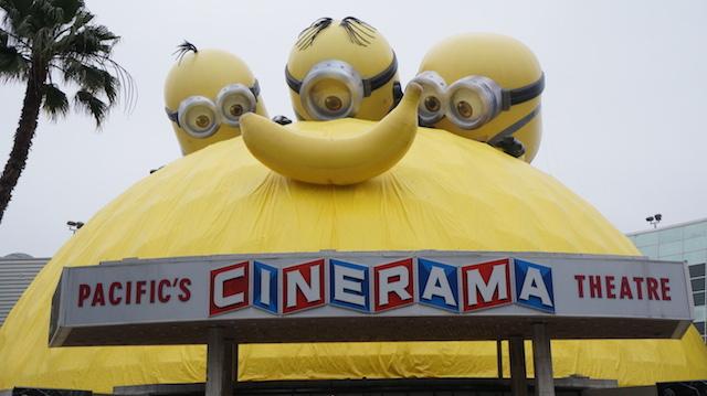 Photos: Massive 'Minions' Installation Over ArcLight's