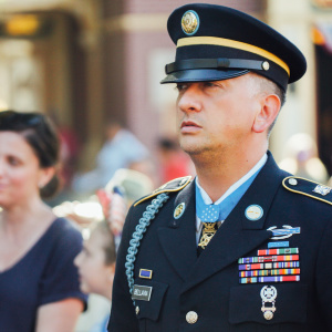 What Do You Do When You're Awarded The Highest Honor In The Military? Go To Disneyland, Of Course