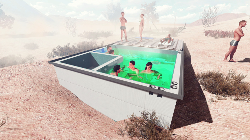Bringing Back The Little Pool Hidden In The Middle Of The Mojave ...