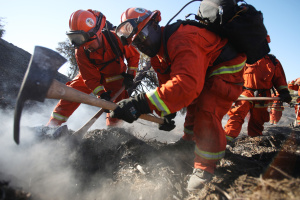 Hot, Sweaty, Close Together - Fighting Wildfires In The Time of Covid