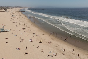 PHOTOS: Here's What LA's Reopened Beaches Looked Liked Last Week