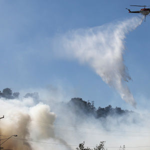 Saddleridge Fire: Firefighters Continue Containment Efforts After Evacuations Lifted And Strong Winds Subside