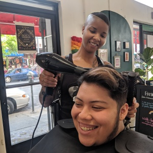 The Chinatown Salon Where LGBTQ Kids Can Let Their Hair Down