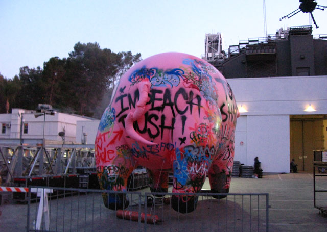 The Pig at the Roger Waters show