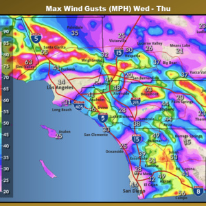 Overnight Winds In LA Will Be Extremely Dangerous. How To Prep For Power Outages