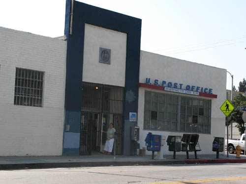 The Post Office in Little Armenia is on Western