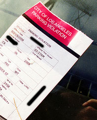 City Of Los Angeles Parking Violation >> Beware Travelers Parking Tickets Gifted To Cars In The
