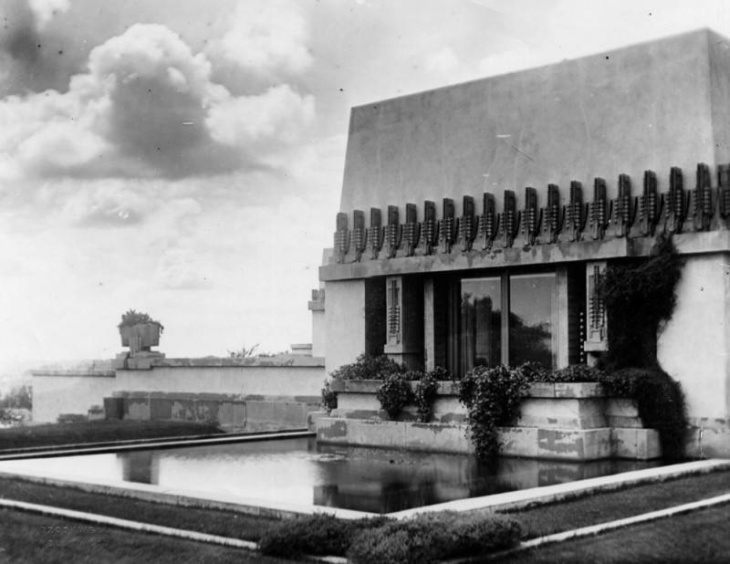 PHOTOS: A Look Back At LA's Hollyhock House, Now A World-Class Architecture Landmark: LAist