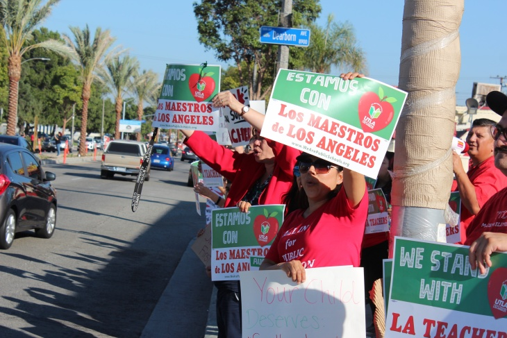 Image result for 30,000 Teachers in Los Angeles Strike
