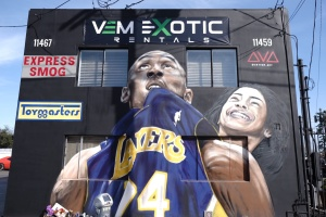 Kobe Bryant Murals Are All Over Los Angeles. Meet One Of The Artists
