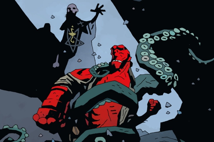Hellboy's Turning 25. Send Birthday Wishes To His Manhattan Beach ...