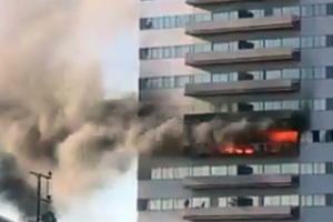 Sawtelle High-Rise Burns For 2nd Time In 7 Years; Two Seriously Injured