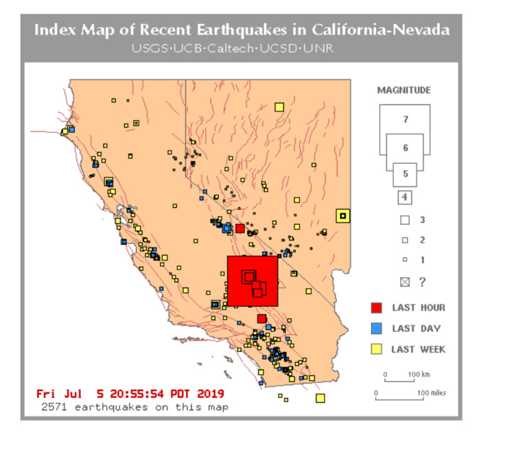 That 6 4 Magnitude Quake On 4th Of July Was Just A Foreshock To
