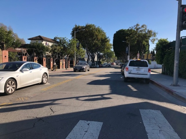 West Hollywood Is Creating A Pedestrian-Only Zone On A Busy Road By Banning Cars