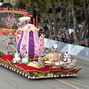 Skip The Crowds -- We're Live-Tweeting The Rose Parade Right Here
