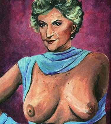 Bea Arthur topless, just the way you always wanted her