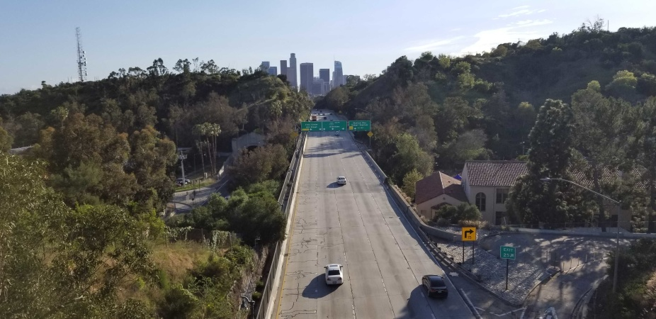 Here's What The Coronavirus Crisis Is Doing To LA's Freeway Traffic