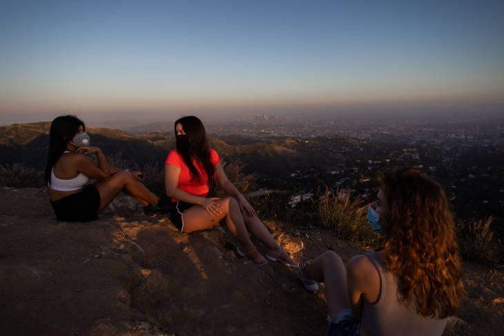 LA's Memorial Day Social Distancing Scorecard: B+