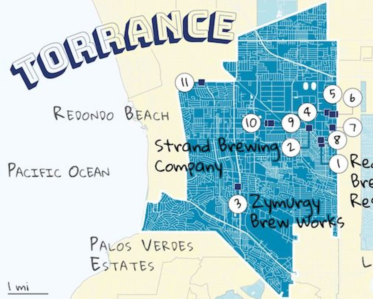 We're Exploring LA County's 88 Cities. Here's Your Guide To Torrance And All Its Breweries