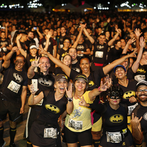 BAM! ZONK! KAPOW! There's a Batman Run Downtown!