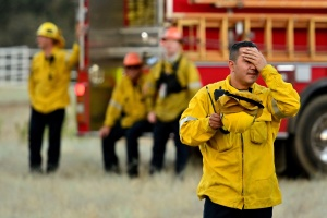 'The Burnout Is Here': Firefighters Struggle As COVID Takes A Toll
