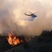 Griffith Park Brush Fire Burns In Area Fire Engines Can't Reach
