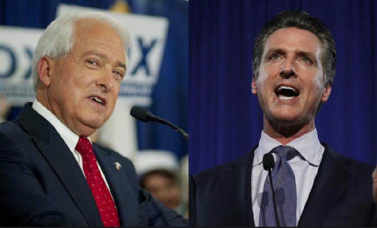 California's Next Governor: Newsom, Cox Darken The Lines Dividing Them In Spirited Debate
