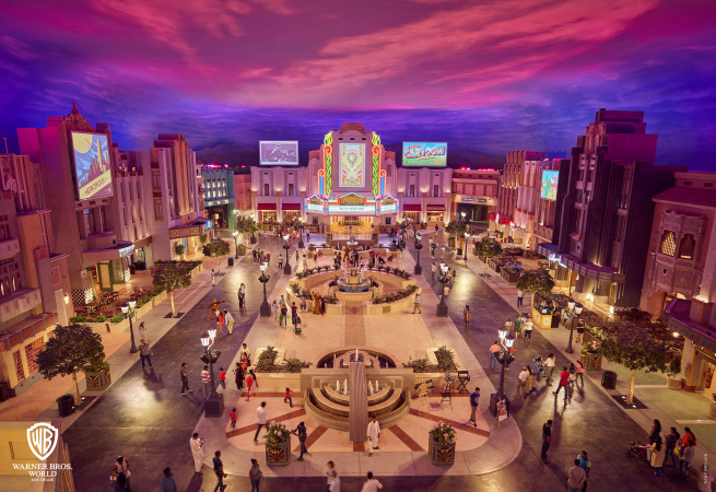 Warner Bros. Just Opened A Billion-Dollar Theme Park! And It's Air-Conditioned! (But It's In Abu Dhabi)