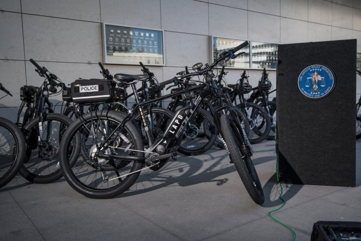 No, LAPD's New Electric Bikes Won't Lead To Out-Of-Shape Cops