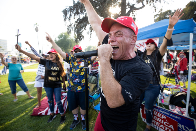 How Did Beverly Hills Become A Hub For Conservative Rallies?