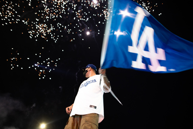 Photos: What It Looks Like In LA When The Dodgers Win The World Series