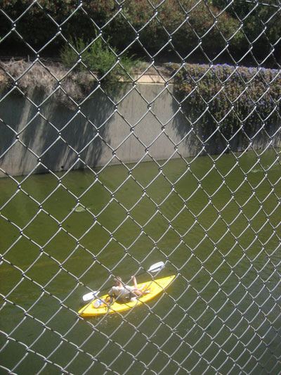 Only in LA: Kayaking in the Los Angeles River