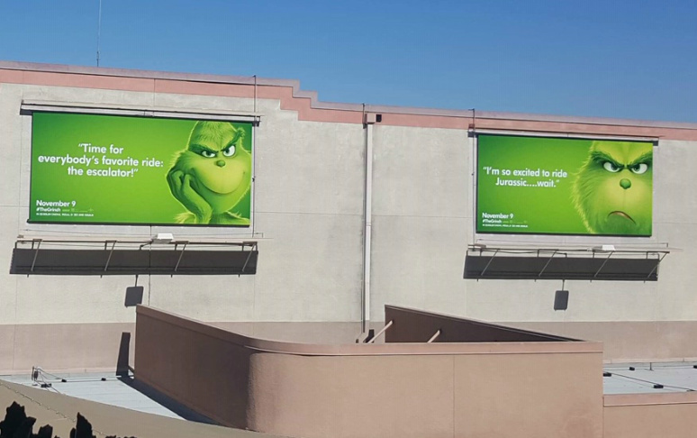 Essay The La Grinch Billboards Are Savage And Spot On Laist