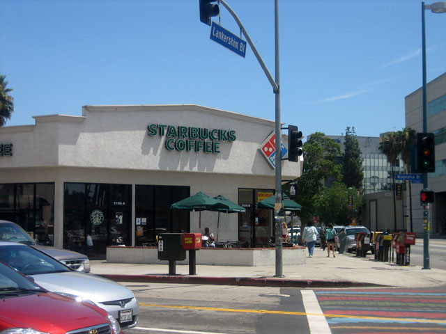 Starbucks at Lankershim and Magnolia