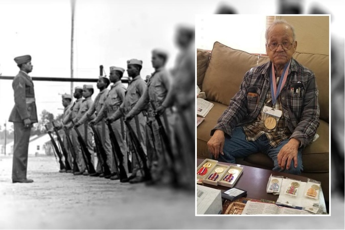 A 95-Year-Old Veteran Remembers Fighting WWII In The Pacific -- And Racism At Home