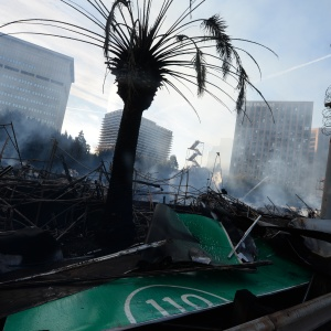 If It's A Windy Day When A Big Quake Hits, Parts Of LA Could Burn To The Ocean