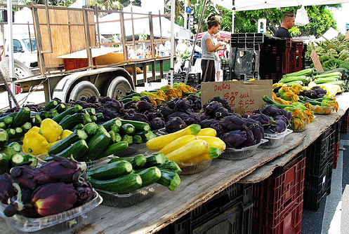 Santa Monica's Farmer's Market